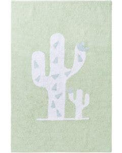 Washable Kid´s Rug Inka Cactus Light Green