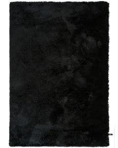 Shaggy rug Whisper Black