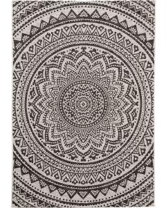 In- & Outdoor Rug Cleo White/Black