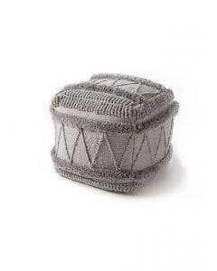 In- & Outdoor Pouf Toni Grey