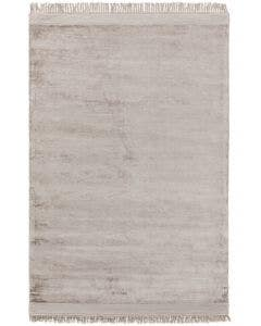 Viscose Rug Pearl Light Grey