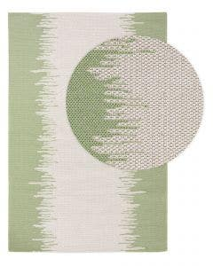 Washable Cotton Rug Cooper Cream/Green