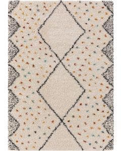 Shaggy rug Selma Cream