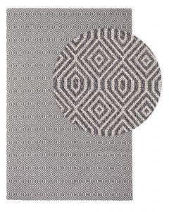 Washable Cotton Rug Cooper Charcoal