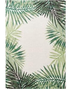 In- & Outdoor Rug Capri Green/Beige