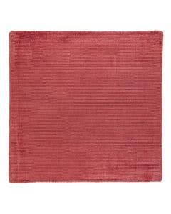 Viscose Rug Lines Red