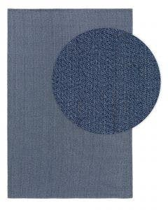 Washable Cotton Rug Cooper Blue