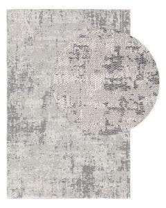 Washable Cotton Rug Cooper Grey