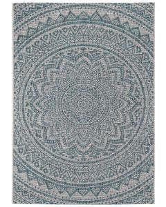 In- & Outdoor Rug Cleo Beige/Blue