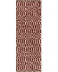 Flat Weave Rug Sloan Dark Red