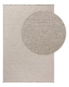 Wool rug Celia Light Grey