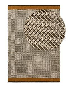 Wool rug Tolga Cream/Yellow