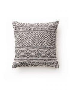 Cushion Cover Naxos Cream/Charcoal