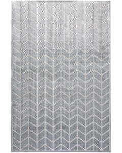 Viscose Rug Woody Light Grey