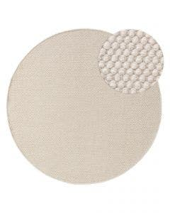 Wool rug Rocco White