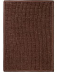 Rug Sisal Dark Brown