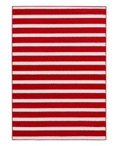Kids rug Noa Kids Stripes Red