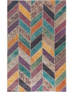 Flat Weave Rug Stay Multicolour