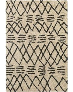 Shaggy rug Tika Cream