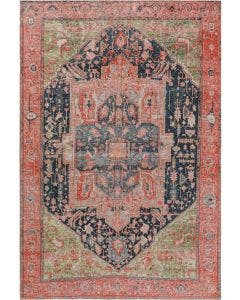 Flat Weave Rug Stay Pink