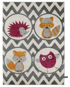 Kids rug Fantasia Purple
