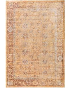 Viscose Rug Yuma Orange