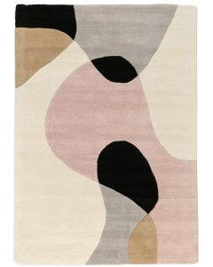 Wool rug Matrix Beige