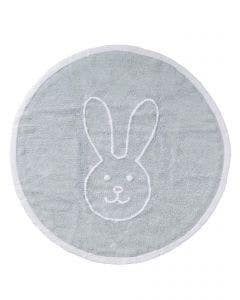 Washable Kid´s Rug Bambini Bunny Blue