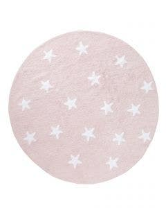 Washable Kid´s Rug Bambini Stars Rose