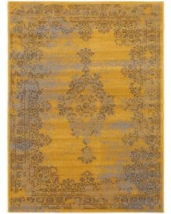 Rug Antique Yellow