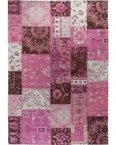 Flat Weave Rug Frencie Purple
