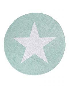 Washable Kid´s Rug Bambini Star Turquoise