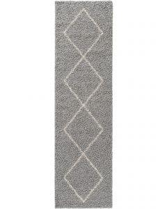 Shaggy rug Beni Grey