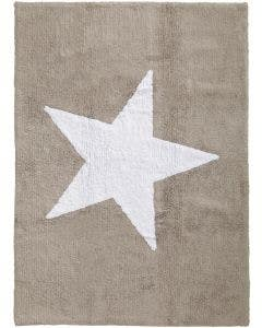 Washable Kid´s Rug Bambini Star Beige
