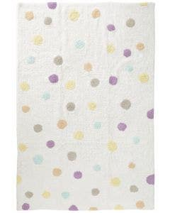 Washable Kid´s Rug Bambini Dots Beige