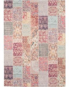Printed Rug Jelle Purple
