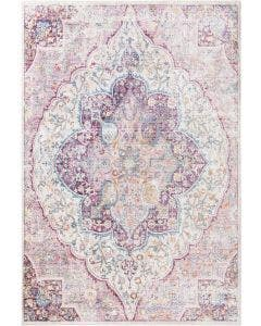 Viscose Rug Yuma Multicolour/Pink