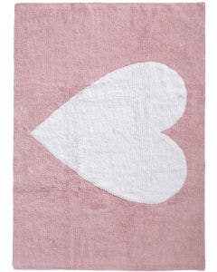 Washable Kid´s Rug Bambini Heart Rose