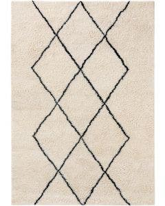 Wool rug Berber Cream