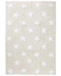 Washable Kid´s Rug Bambini Stars Beige