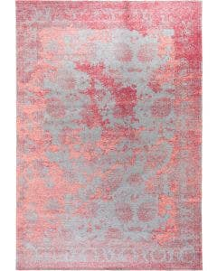 Flat Weave Rug Frencie Red/Blue