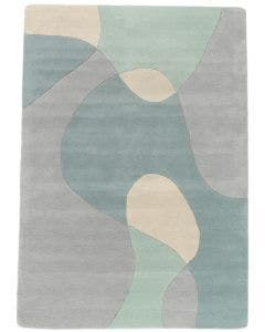Wool rug Matrix Grey