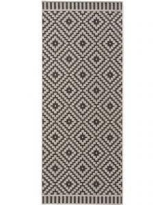 In- & Outdoor Rug Metro Black/White