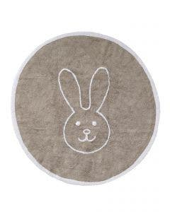 Washable Kid´s Rug Bambini Bunny Beige