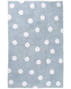 Washable Kid´s Rug Bambini Dots Blue