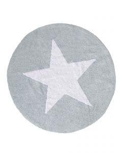 Washable Kid´s Rug Bambini Star Blue