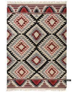 Wool rug Fresh Kelims Red