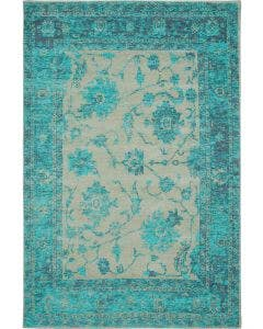 Flat Weave Rug Frencie Turquoise