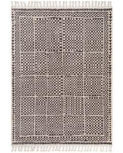 Rug Bahar Black/White