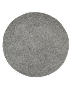Shaggy rug Swirls Dark Grey